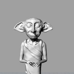 Download OBJ file Dobby • 3D printer object, LaboratorioGottardello