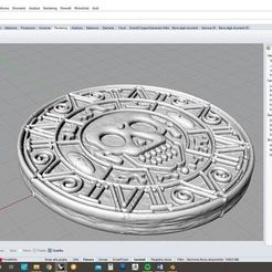 pirates-of-the-carribean-medallion-3d-model-obj-stl-3dm-3.jpg Download OBJ file Pirates of the carribean medallion • Template to 3D print, LaboratorioGottardello