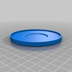 SmallSaucerGFA.png Download free STL file Small Saucer (Bulbasaur Planter Plate) • 3D printing model, GeekyFayeArt