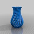 WeirdVaseGFA.png Download free STL file Weird Twisty Vase • 3D print template, GeekyFayeArt