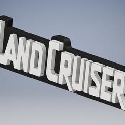 Land Cruiser 2.jpg Download STL file LAND CRUISER key ring 1.2 • 3D printing model, raulrodriguez007123