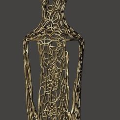 vase voronoi.jpg Descargar archivo STL Florero,Adorno • Plan para la impresión en 3D, raulrodriguez007123