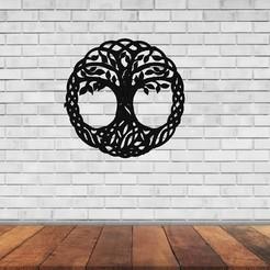 cultura Celta arbol de la vida.jpg Download STL file Tree of Life • 3D printer model, raulrodriguez007123