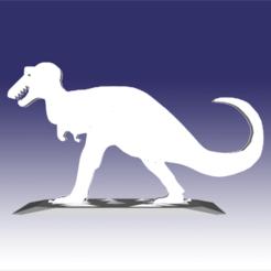 Descargar diseños 3D Tyranosaurus - Diseño de un juguete de dinosaurio para impresión en 3D, circlesquare777