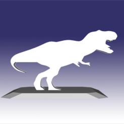 Descargar modelos 3D Tiranosaurio - Diseño de juguete de dinosaurio para impresión en 3D, circlesquare777