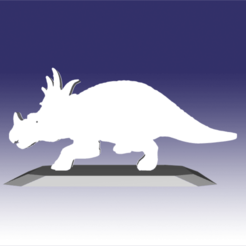 Descargar STL Styracosaurus - Diseño de un juguete de dinosaurio para impresión en 3D, circlesquare777
