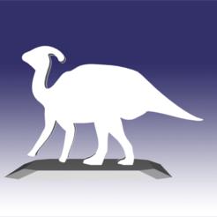 Descargar archivo 3D Parasaurolophus - Diseño de juguete de dinosaurio para impresión en 3D, circlesquare777