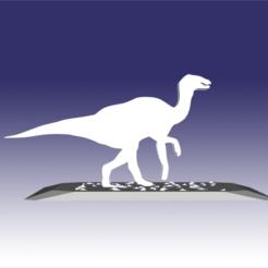 Imprimir en 3D Edmontosaurio - Diseño de juguete de dinosaurio para impresión 3D, circlesquare777