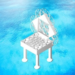 Download 3D print files Sacred Geometry Chair for Kings and Queens, circlesquare777
