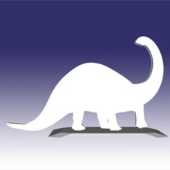 Descargar archivos 3D Apatosaurus - Diseño de juguete de dinosaurio para impresión 3D, circlesquare777