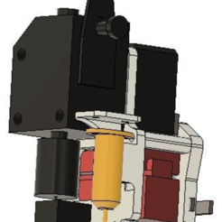 "Download free 3D model Revised MGN12H Carriage for BMG and BLTouch with RJ45 mounts, ""Over the Top"" Style, bwaslo"