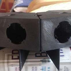 Download free 3D printing files Enclosures for BMR ambient tweeters, bwaslo