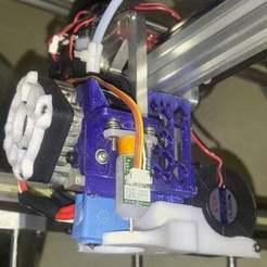 Télécharger fichier STL gratuit (révisé 9/2018) Refroidisseur pour FT-5 et 713maker.com Support d'extrudeuse Ultralight Aero • Design imprimable en 3D, bwaslo