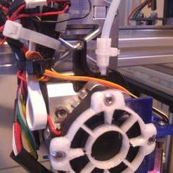 Download free 3D printing files Titan adaptor for using 3mm ID reverse-Bowden tube, bwaslo