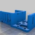 """Télécharger fichier STL gratuit Amélioration et simplification du chariot """"Over the Top"""" pour le BMG, V6/Volcano, BLTouch & RJ45 • Design pour impression 3D, bwaslo"""
