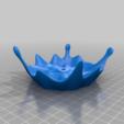 Splash_with_pocket.png Télécharger fichier STL gratuit Coupe flottante améliorée, bon équilibre • Modèle imprimable en 3D, bwaslo