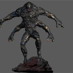 out2.jpg Download STL file OUTRIDER AVENGERS INFINITY WAR ENDGAME MCU MARVEL • 3D print template, figuremasteracademy