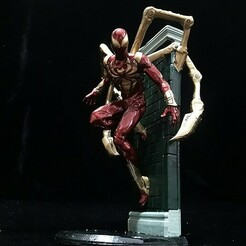6 (3).jpg Download STL file IRON SPIDER-PS4-VERSION • Template to 3D print, figuremasteracademy