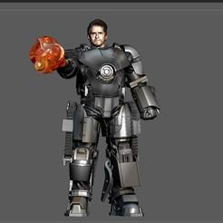 10.jpg Download STL file MK1 IRONMAN MCU MARVEL AVENGERS TONY STARK 3D PRINT • 3D printer template, figuremasteracademy