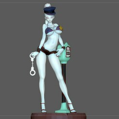 1.jpg Télécharger fichier STL VADOS POLICE VIKINI SEXY statue de fille dragonball personnage d'anime VIKINI modèle d'impression 3d • Design pour imprimante 3D, figuremasteracademy