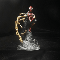 1 (6).png Download STL file IRON SPIDER SPIDERMAN ENDGAME AVENGERS 3D PRINT • 3D print template, figuremasteracademy