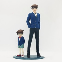 Download 3D printing models DETECTIVE CONAN MODEL FOR PRINTING!, figuremasteracademy