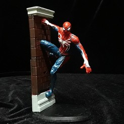 1.jpg Télécharger fichier OBJ SPIDERMAN VERSION PS4 • Modèle pour impression 3D, figuremasteracademy