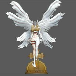 1.jpg Télécharger fichier STL ANGEWOMON DIGIMON FILLE SEXY JOLI ANGE PERSONNAGE ANIME • Objet pour impression 3D, figuremasteracademy