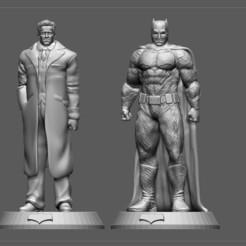 1.jpg Télécharger fichier STL BATMAN BRUCE WAYNE STATUE DC JUSTICE LEAGUE • Objet à imprimer en 3D, figuremasteracademy