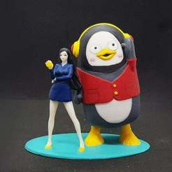 Download free STL file PENGSU 3D PRINT FIGURE 펭수 피규어 • 3D print model, figuremasteracademy