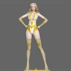 1.jpg Télécharger fichier STL STARLIGHT THE BOYS AMAZON STATUE FIGURINE • Design pour imprimante 3D, figuremasteracademy