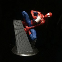 1 (20).jpg Télécharger fichier STL SPIDERMAN DANS LA STATUE DE SPIDERVERSE PETER B PARKER • Plan pour impression 3D, figuremasteracademy