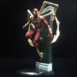 Download 3D printer model IRON SPIDER-PS4-VERSION, figuremasteracademy
