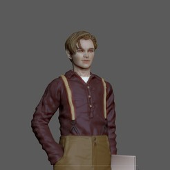 0.jpg Download STL file JACK LEONARDO DICAPRIO TITANIC 3D MODEL FOR 3D PRINT • Object to 3D print, figuremasteracademy