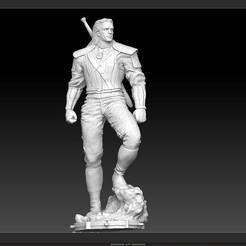 q1.jpg Download STL file WITCHER GEROLT NETFLIX FULL MODEL FOR 3D PRINT • 3D print model, figuremasteracademy