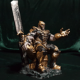 Télécharger fichier STL THANOS ON THE THRONE AVENGERS ENDGAME IRONMAN MCU, figuremasteracademy
