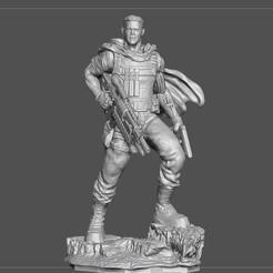 3.jpg Télécharger fichier OBJ CABLE DEADPOOL JOSH BROLIN MOVIE STATUE FOR RESIN PRINTING MCU • Design à imprimer en 3D, figuremasteracademy