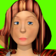 Download STL file woman in an eye catching suit • 3D printing object, NadavRock