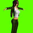 Download 3D printing templates woman in a great suit, NadavRock