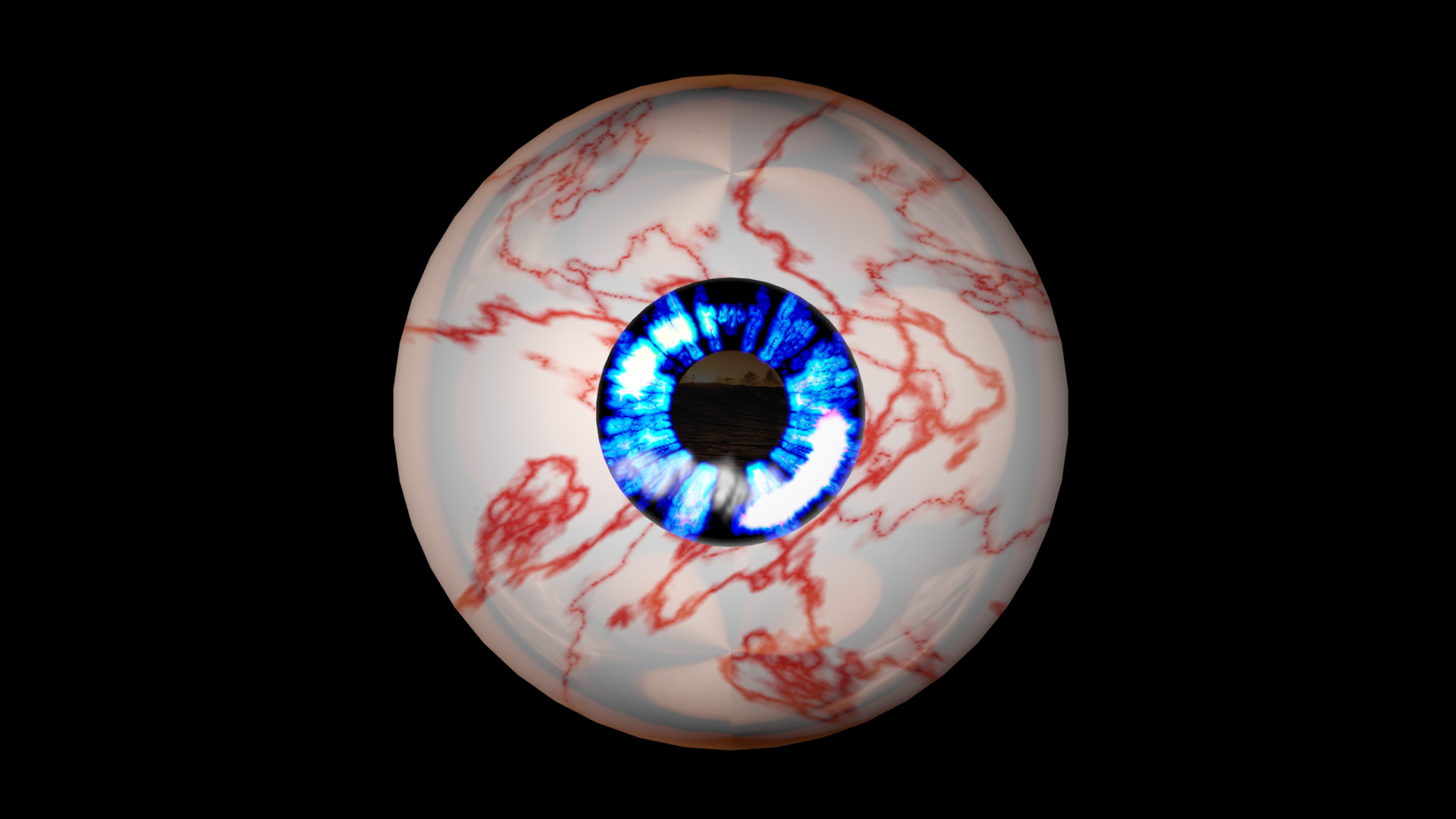 2.png Download free STL file Free 3ds rigged eyesballs • 3D printable object, NadavRock