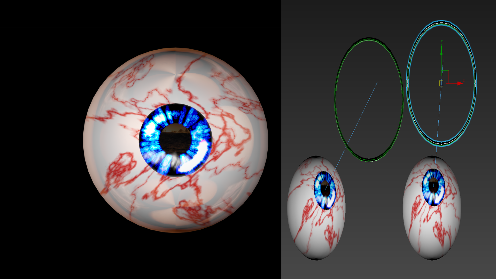 1.png Download free STL file Free 3ds rigged eyesballs • 3D printable object, NadavRock