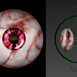 Download free STL files Free 3d model of wonderful eyes, NadavRock
