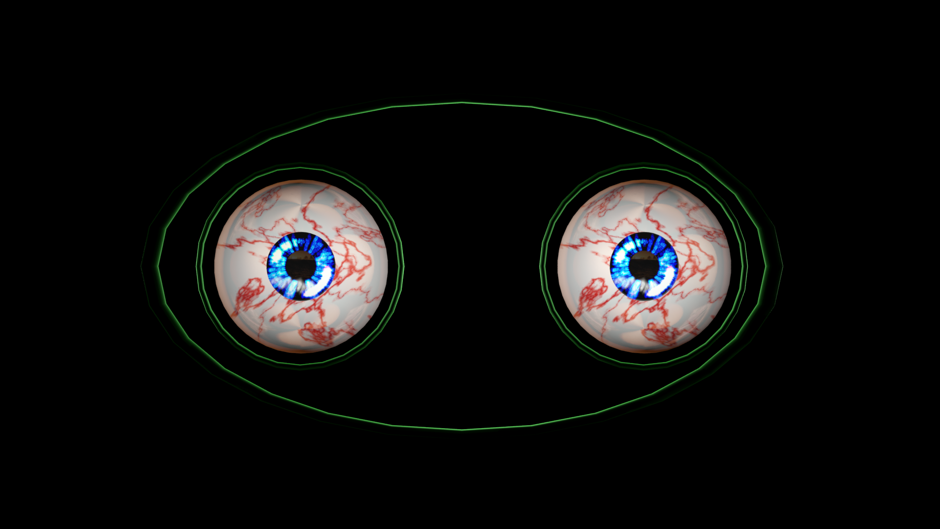 3.png Download free STL file Free 3ds rigged eyesballs • 3D printable object, NadavRock