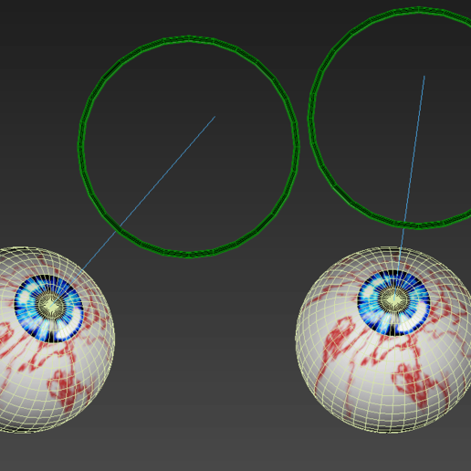 5.png Download free STL file Free 3ds rigged eyesballs • 3D printable object, NadavRock