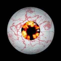 1.png Download free STL file Free rigged flaming eyes • 3D print model, NadavRock