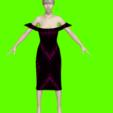 Download STL file Dress of a seductive woman • Design to 3D print, NadavRock