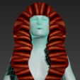 Download free STL file Free wonderful woman's hair • Model to 3D print, NadavRock