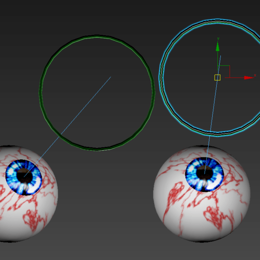 4.png Download free STL file Free 3ds rigged eyesballs • 3D printable object, NadavRock
