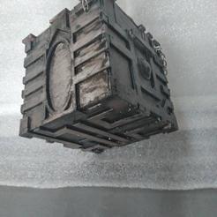 manavault1.jpg Download STL file Mana Vault Deck Box • 3D printable template, Huitzoc