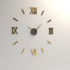 Download 3D printing models Wall clock , miladhamzali